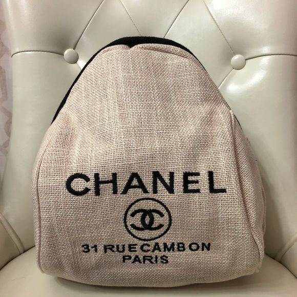 897604086db5 Bags   New Authentic Beige Chanel Vip Gift Backpack Bag   Poshmark